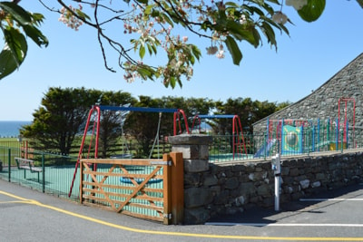 A park area is ideal for children