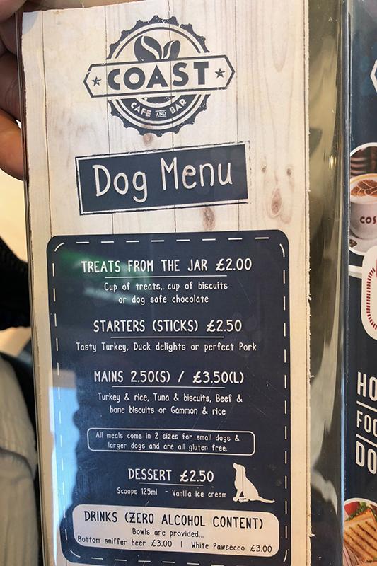 Dog Friendly Cafe at Brean Leisure Park - Premier Parks