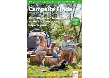 Buy the latest issue of Camping and get a Campsite Finder 2020 guidebook