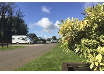 The perfect campsite near Dover before you head overseas