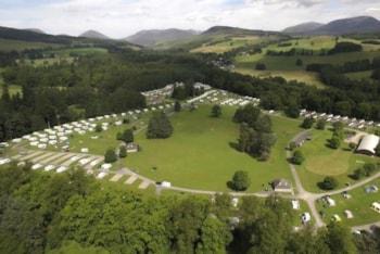 Blair Castle Caravan Park unveils new larger pitches