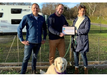 Awards hat trick for pair who risked all on holiday venture