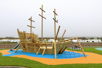 New play area for Islawrffordd Caravan Park