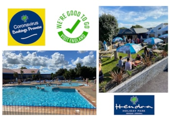 Hendra Holidays in Cornwall now open and putting its customers first