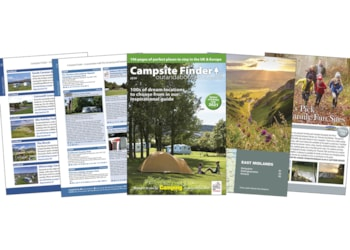 2021 digital edition of Campsite Finder available now