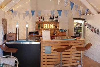 Trevella Park: the home of the smallest pub in Crantock!