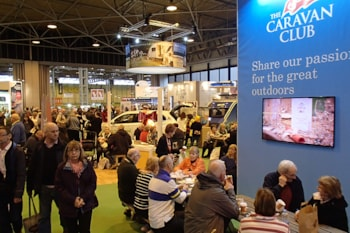 Come see us at the NEC Caravan, Camping & Motorhome Show and save 20% on your next Premier Parks stay