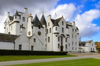 Scouts take over Blair Atholl, Scotland
