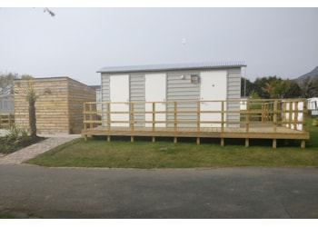 New facilities block for Garreg Goch Caravan Park