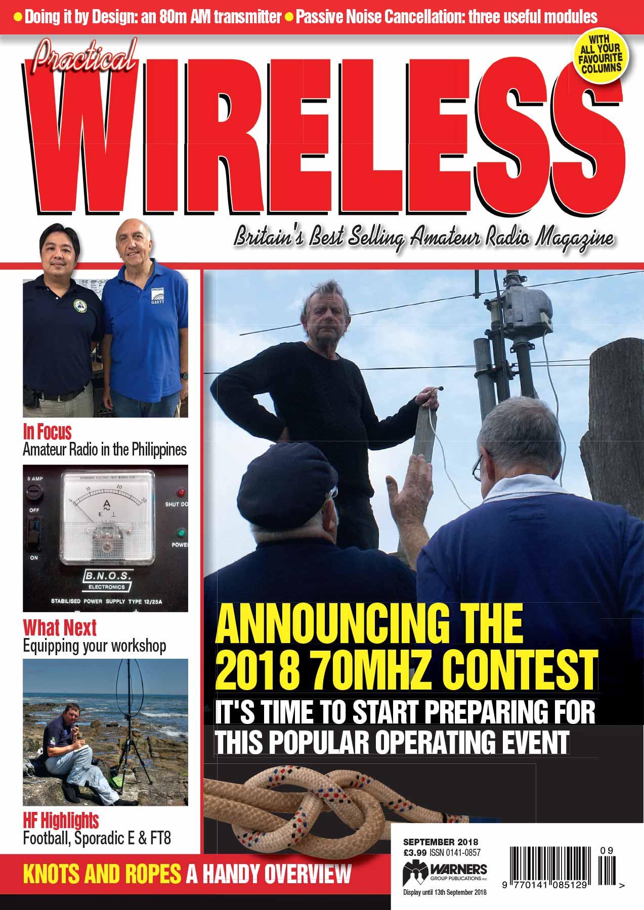 Practical Wireless September 2018 - Radio Enthusiast