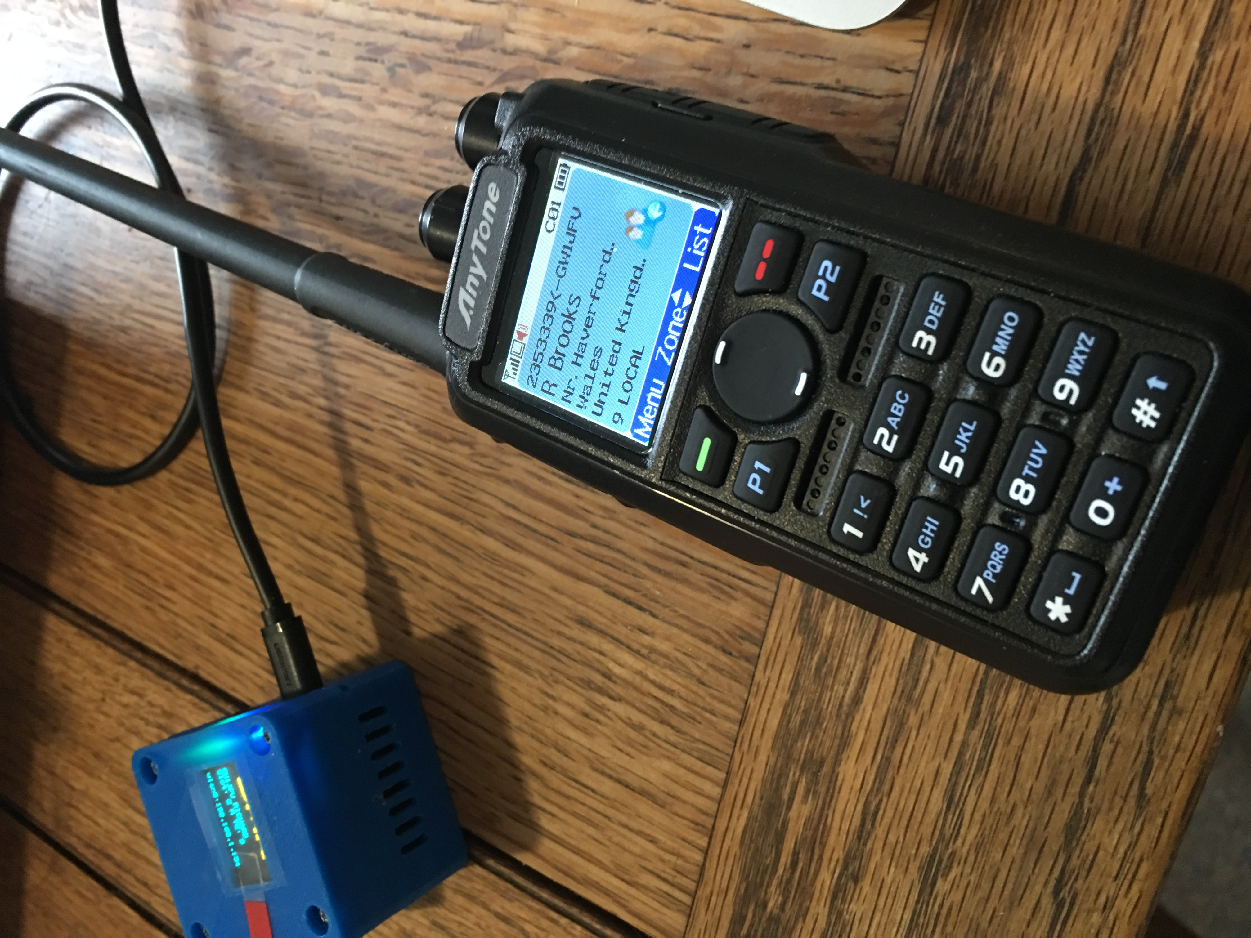 MMDVM Nano hotspot for DMR, D-STAR, C4FM, NXDN and P25