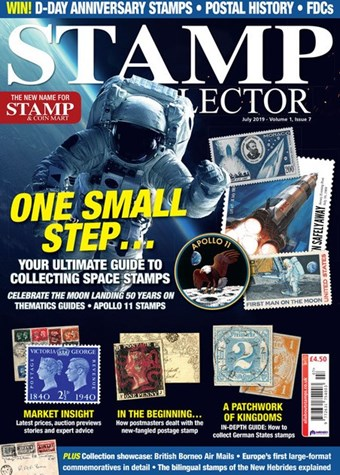 Stamp Collector magazine - July 2019