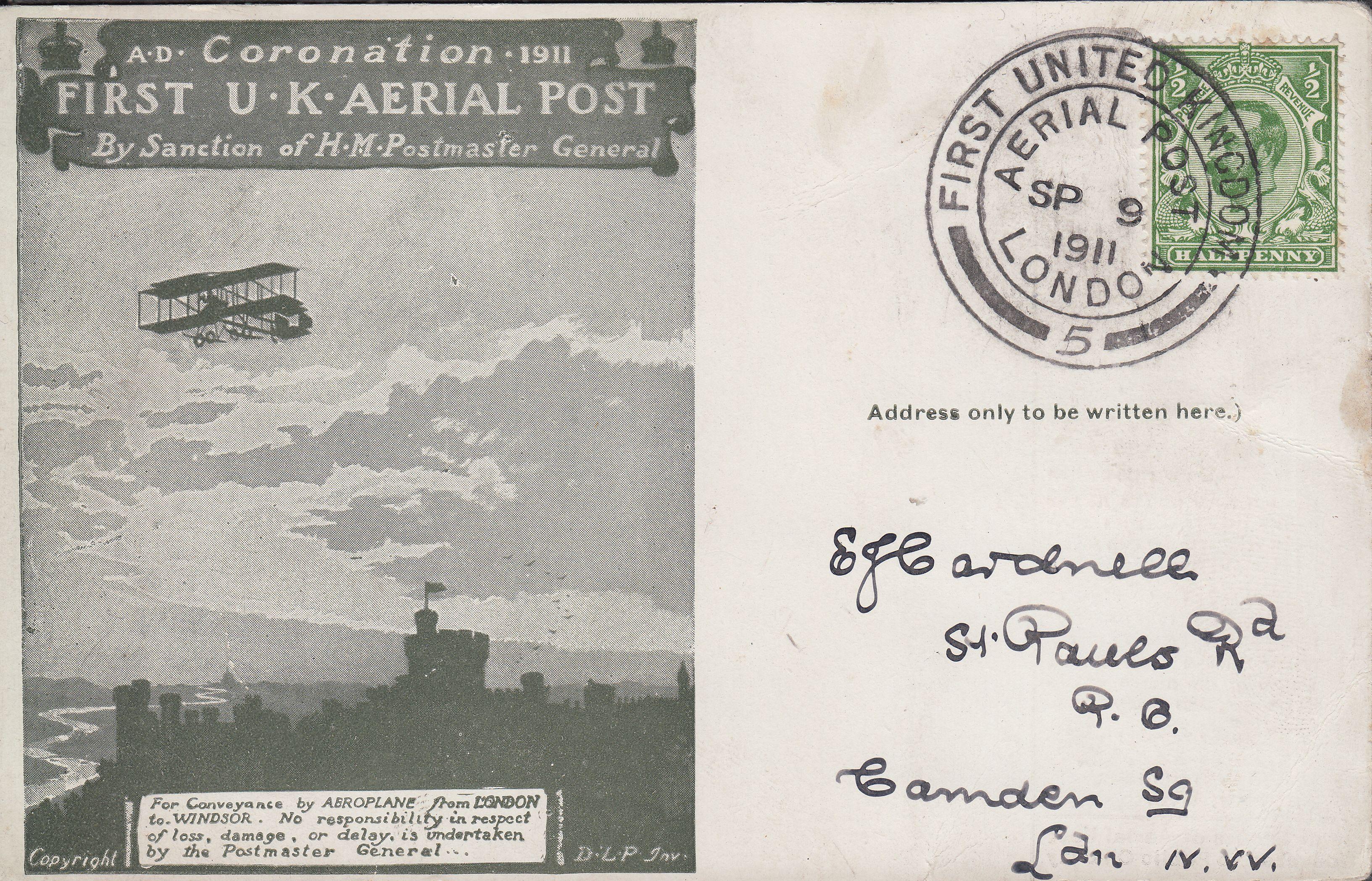 1911 Aerial Flight cover (Bill Barrell)