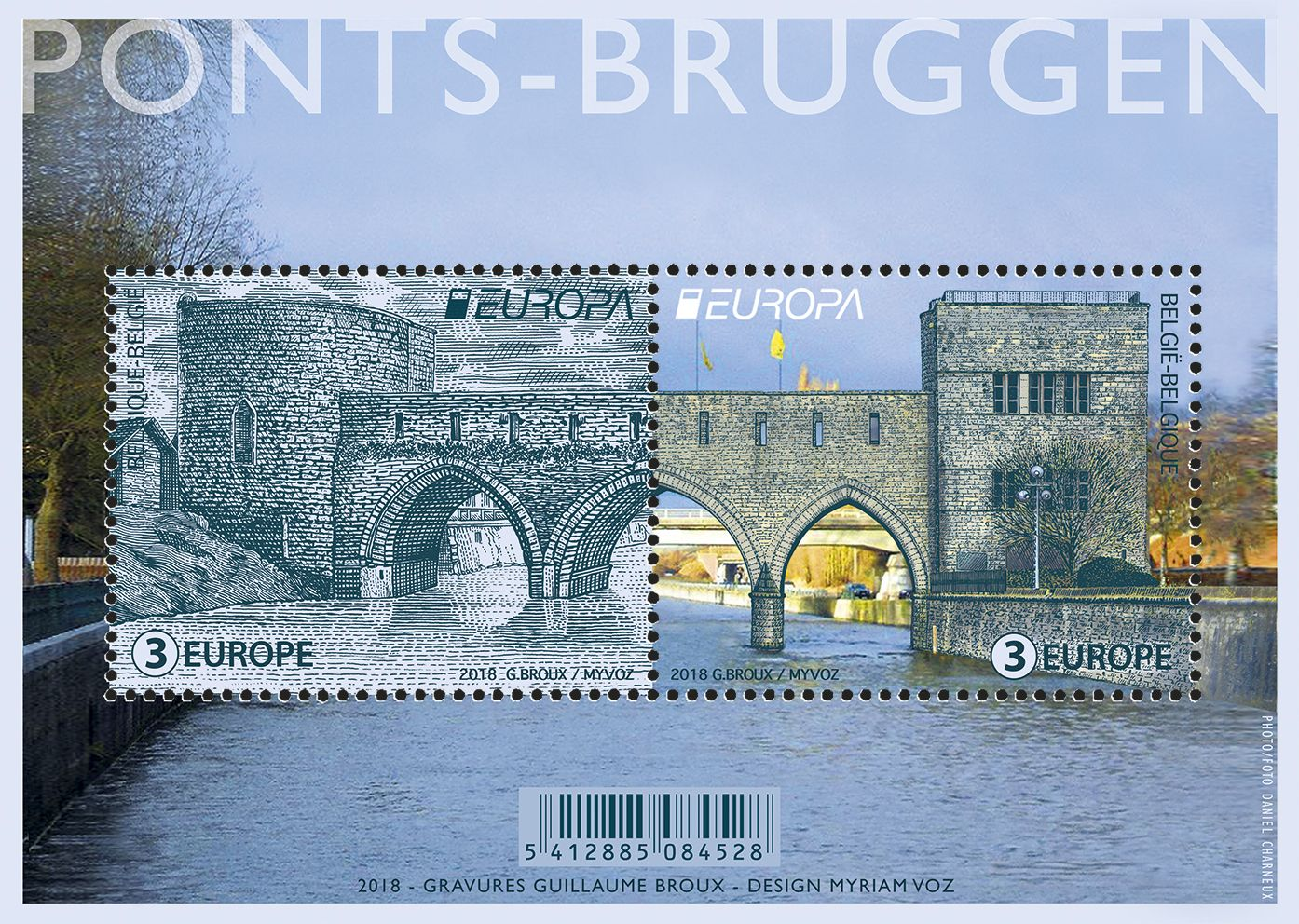 Belgium Europa Stamp 2018