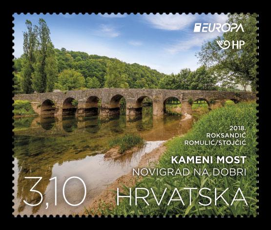 Croatia Europa Stamp 2018