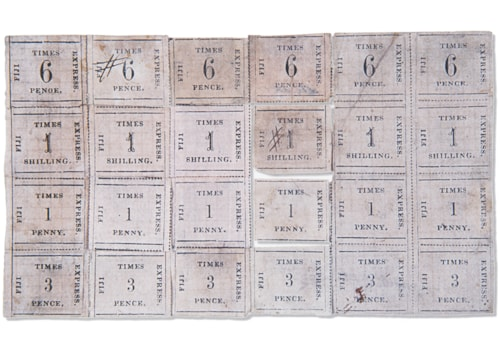 Fiji Times Express stamps