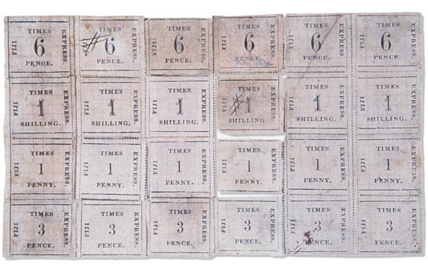 Fiji Times Express stamps