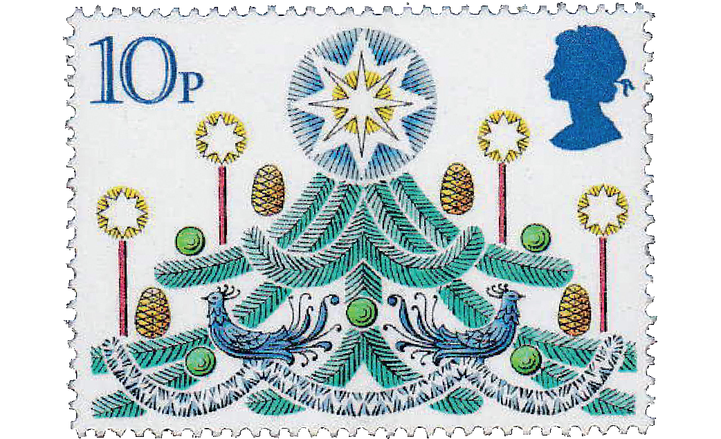 Christmas Stamps 2019.A Brief History Of British Xmas Stamps All About Stamps