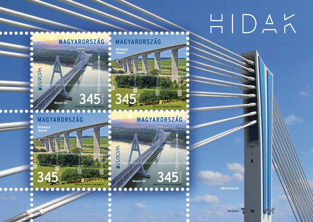 Hungary Europa Stamp 2018