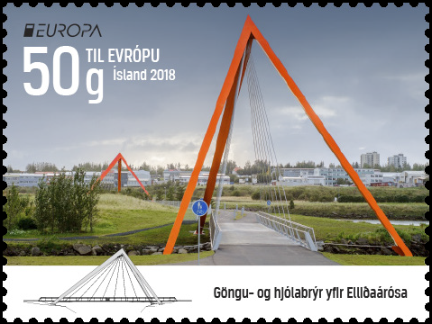 Iceland Europa Stamp 2018