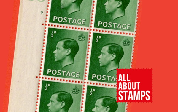 Edward VIII stamps