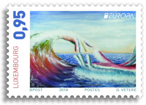 Luxembourg Europa Stamp