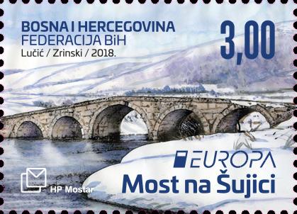 Bosnia Europa Stamp 2018