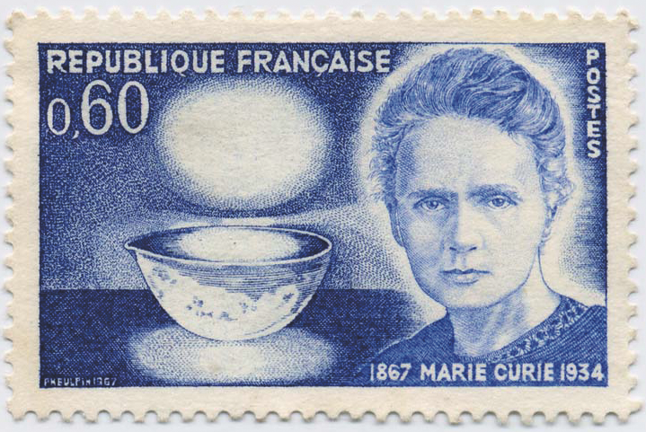 Marie Curie On Stamps