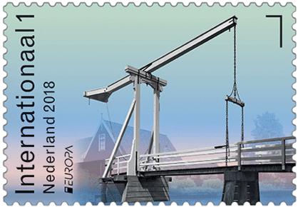 Netherlands_Europa_Stamp