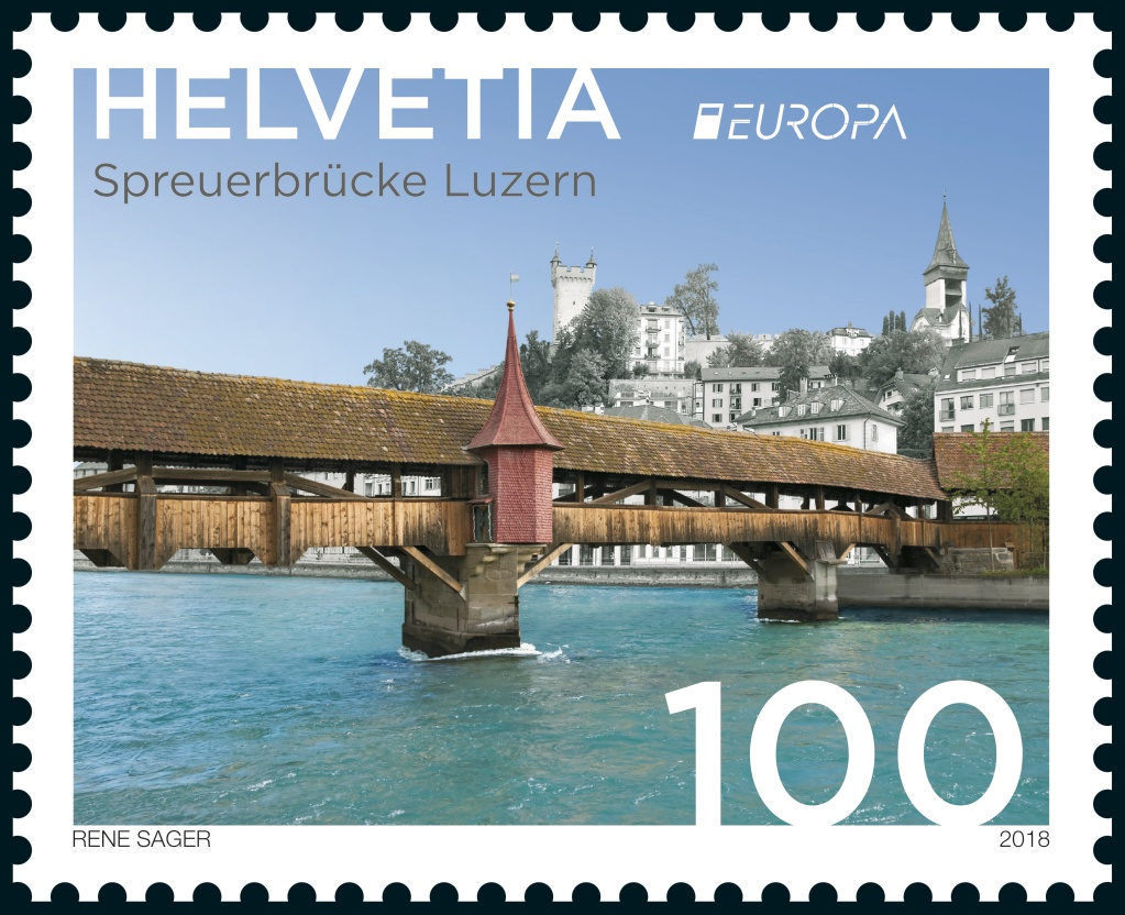 Switzerland Europa Stamp 2018
