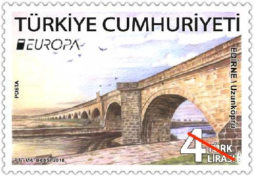Turkey Europa Stamp 2018