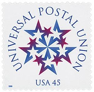 USA Universal Postal Union stamp 1999