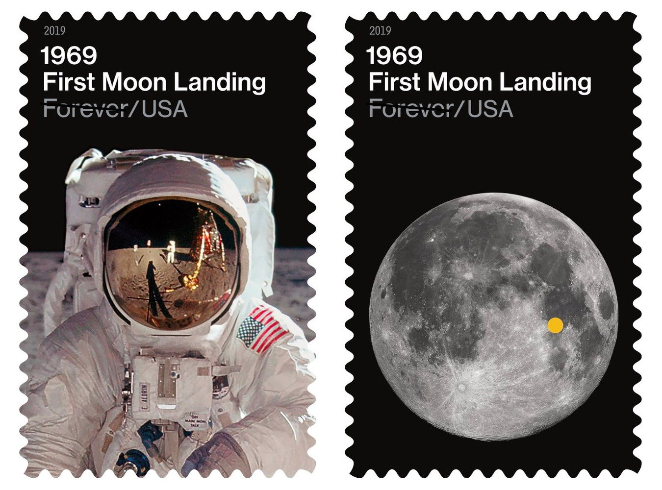 6a82bc16 The fiftieth anniversary of the historic Apollo 11 moon landings have  inspired a growing range of new stamps from philatelic bureaux around the  world.