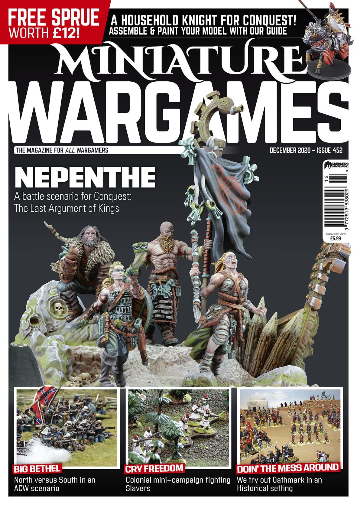 Miniature Wargames 452 -  Tabletop Gaming