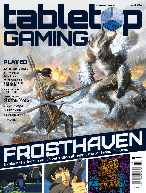 Tabletop Gaming Issue 40 -  Tabletop Gaming