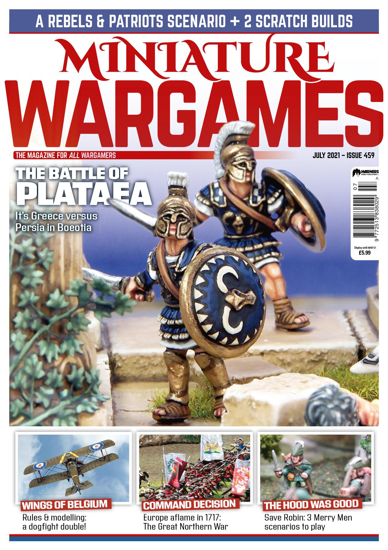 Miniature Wargames 459 -  Tabletop Gaming