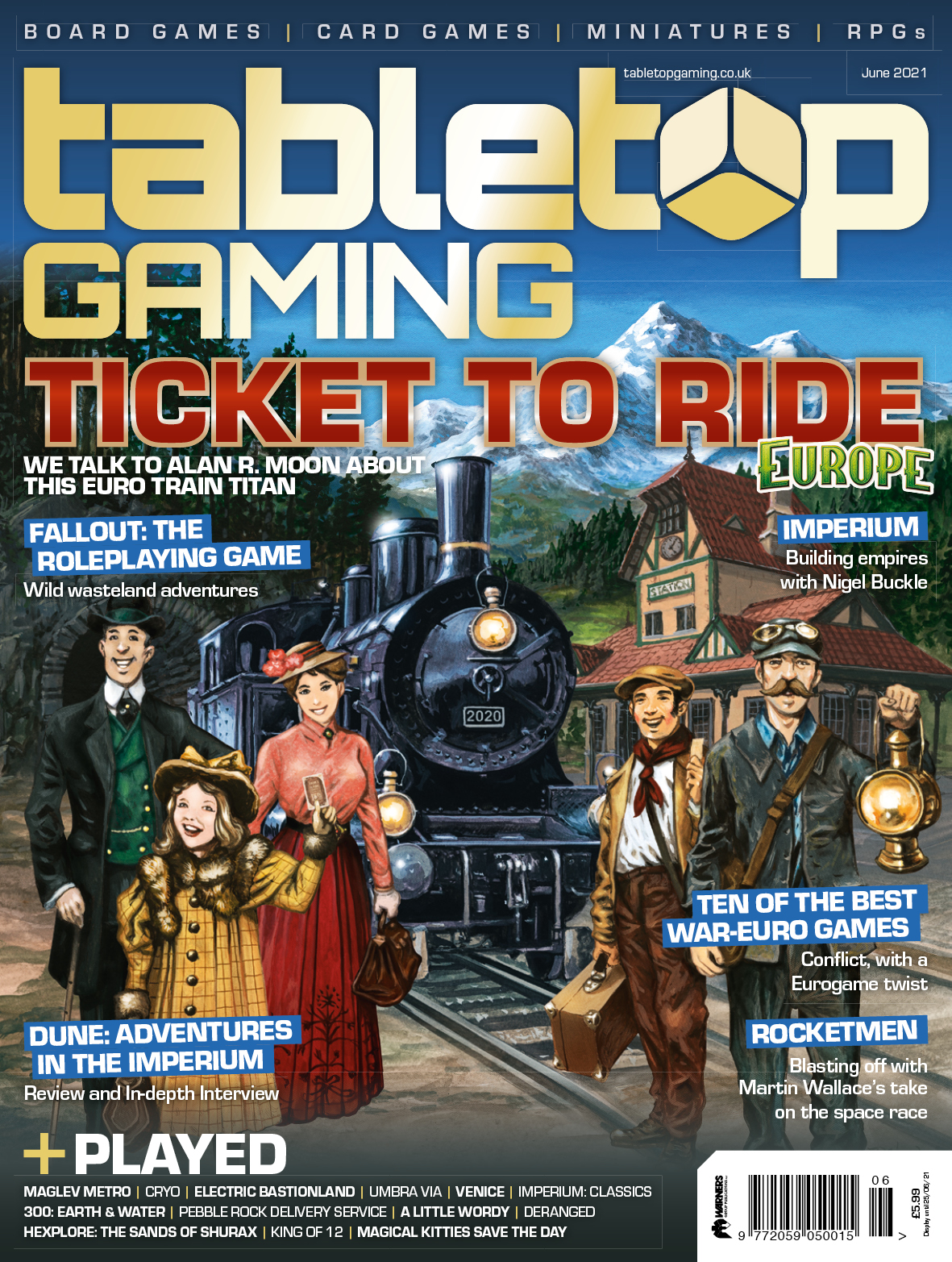 Tabletop Gaming Issue 55 -  Tabletop Gaming