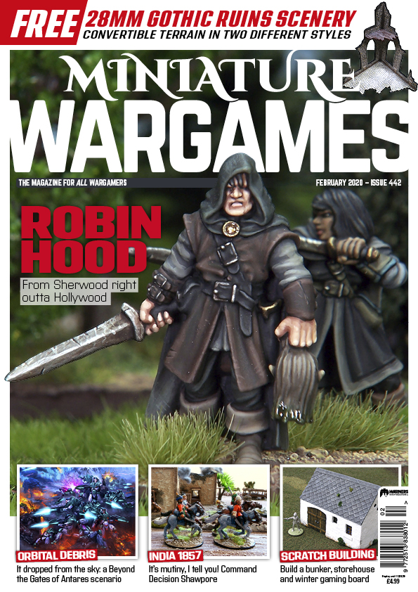 Miniature Wargames 442 -  Tabletop Gaming