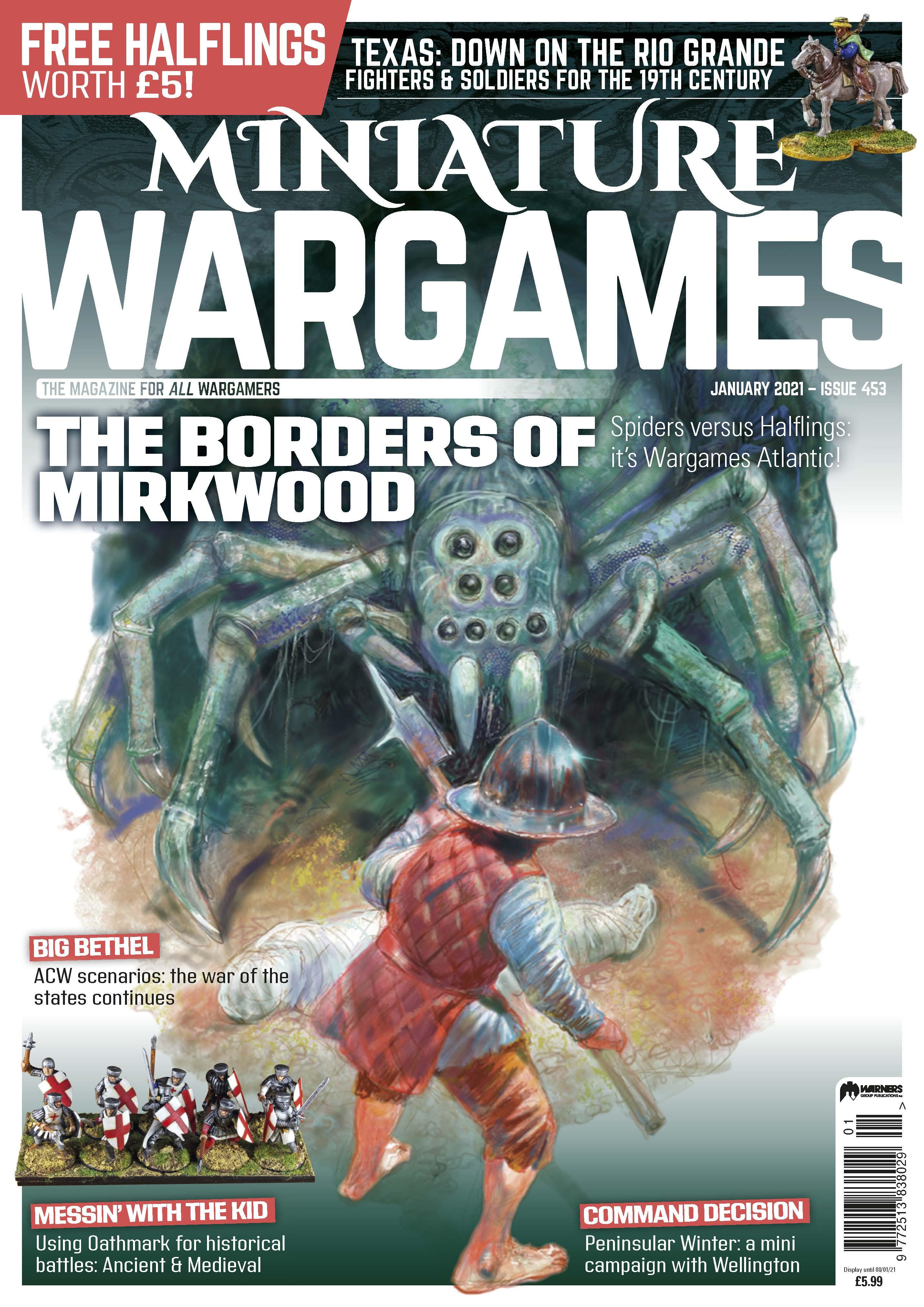 Miniature Wargames 453 -  Tabletop Gaming