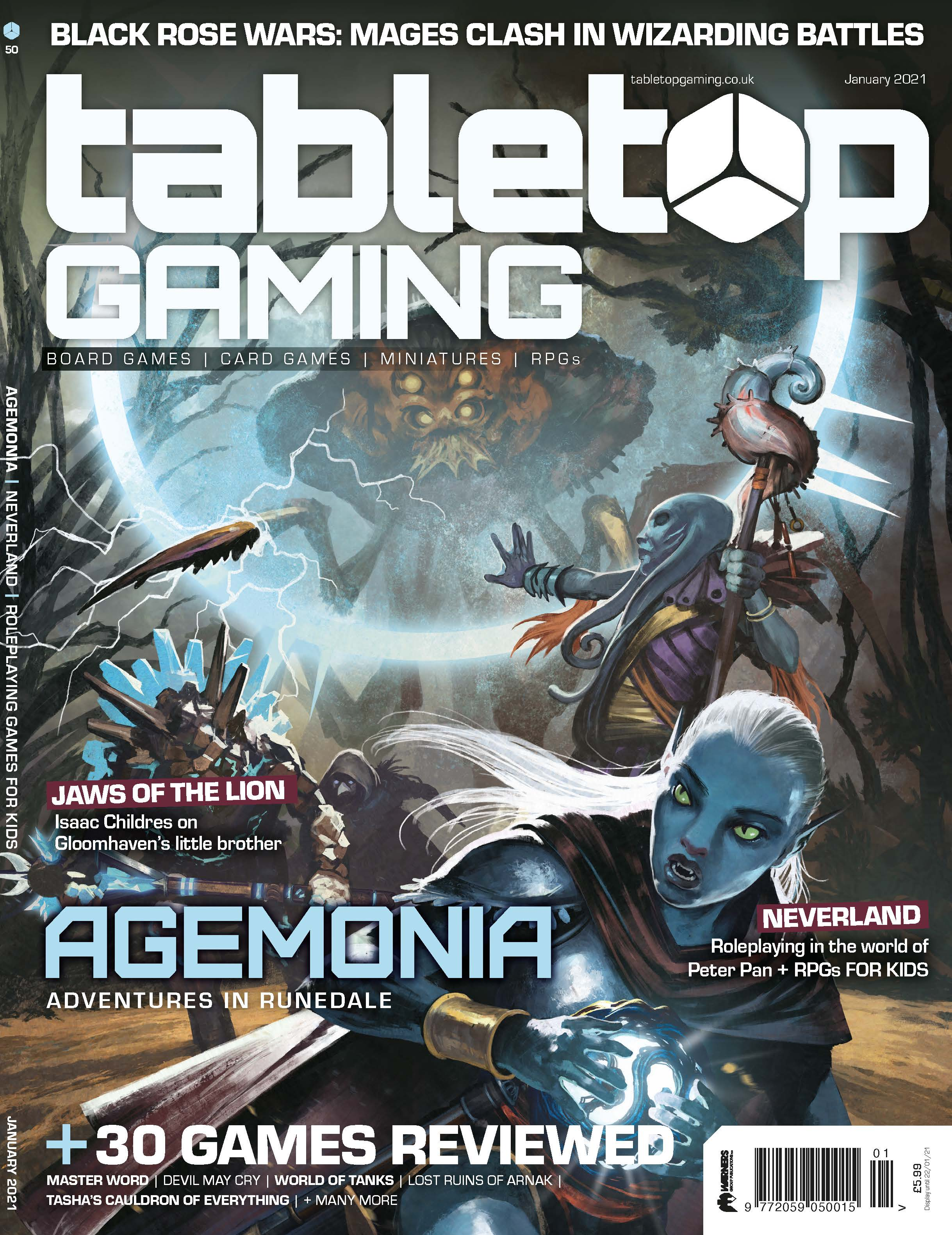 Tabletop Gaming Issue 50 -  Tabletop Gaming