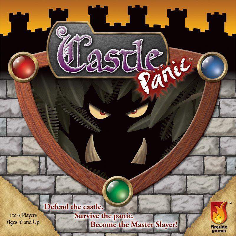 The box of Castle Panic