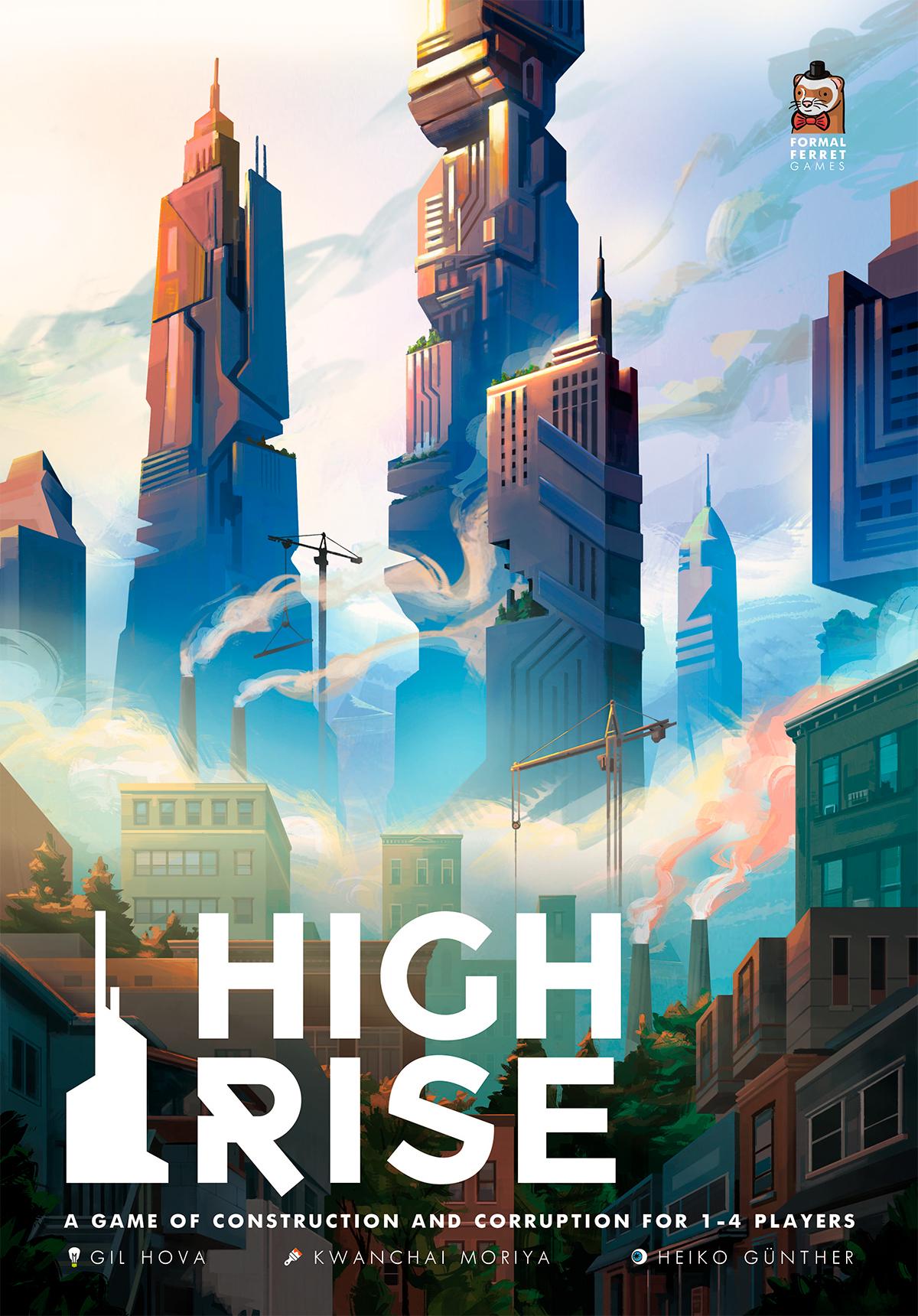 High Rise Box Art