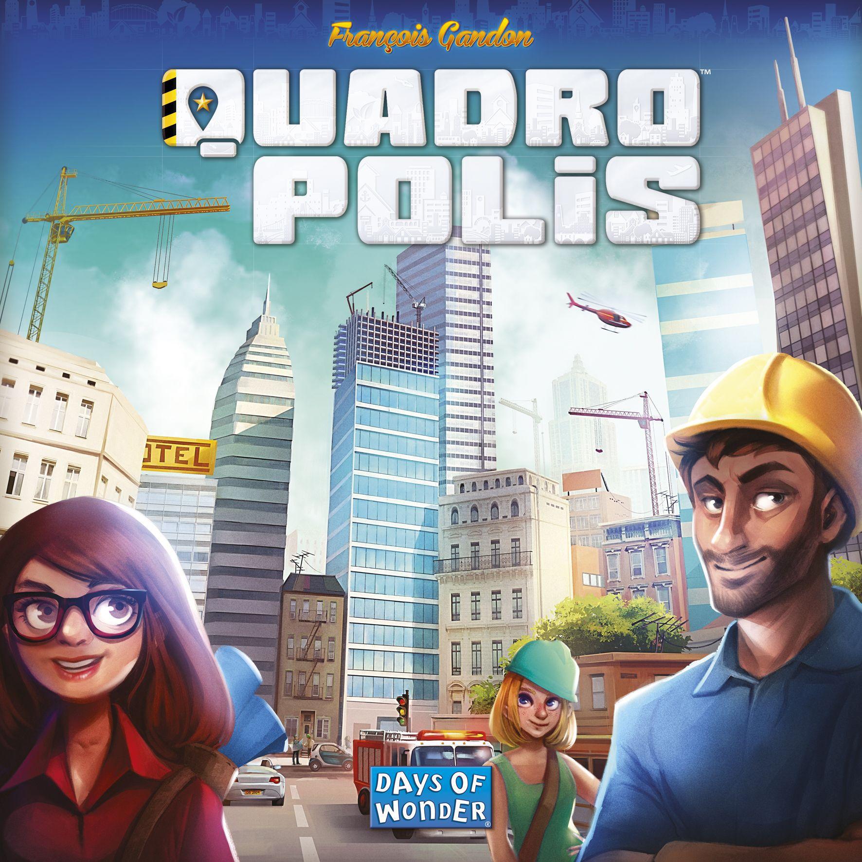 Quadropolis Box Art