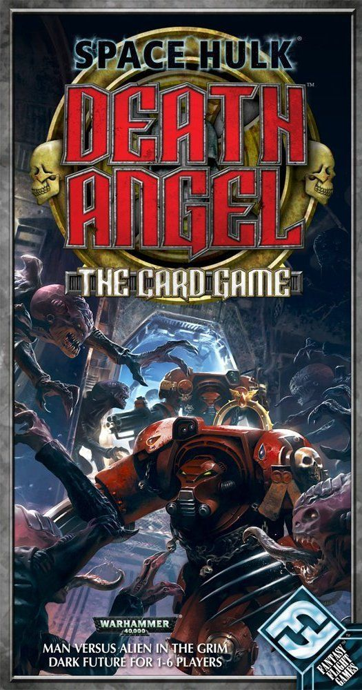 The box for Death Angel The Card Game