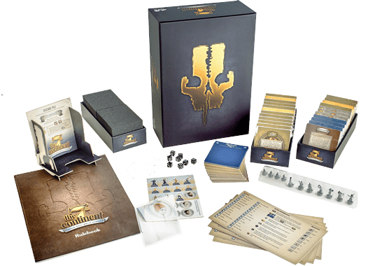The 7th Continent Box and components