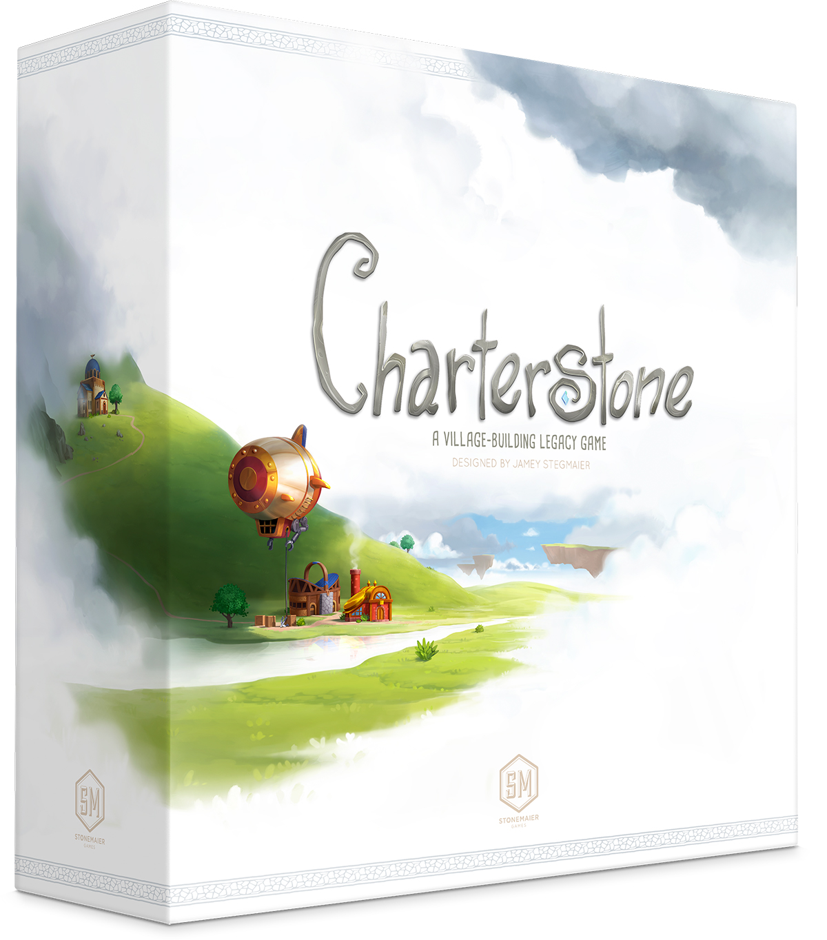 The box for Charterstone game