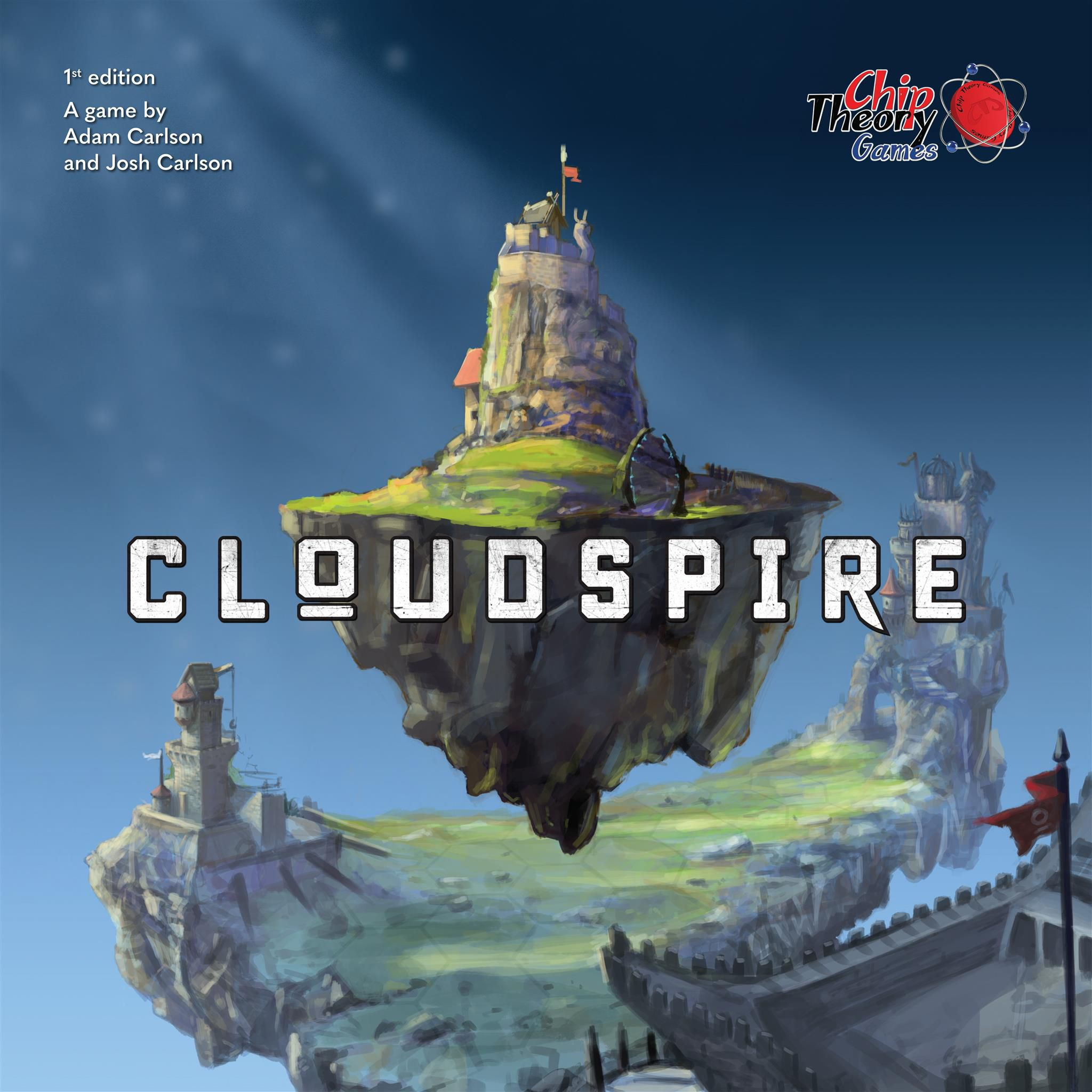 The box for the game Cloudspire