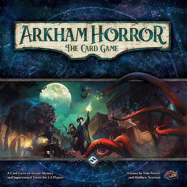 The Arkham Horror: The Card Game Box
