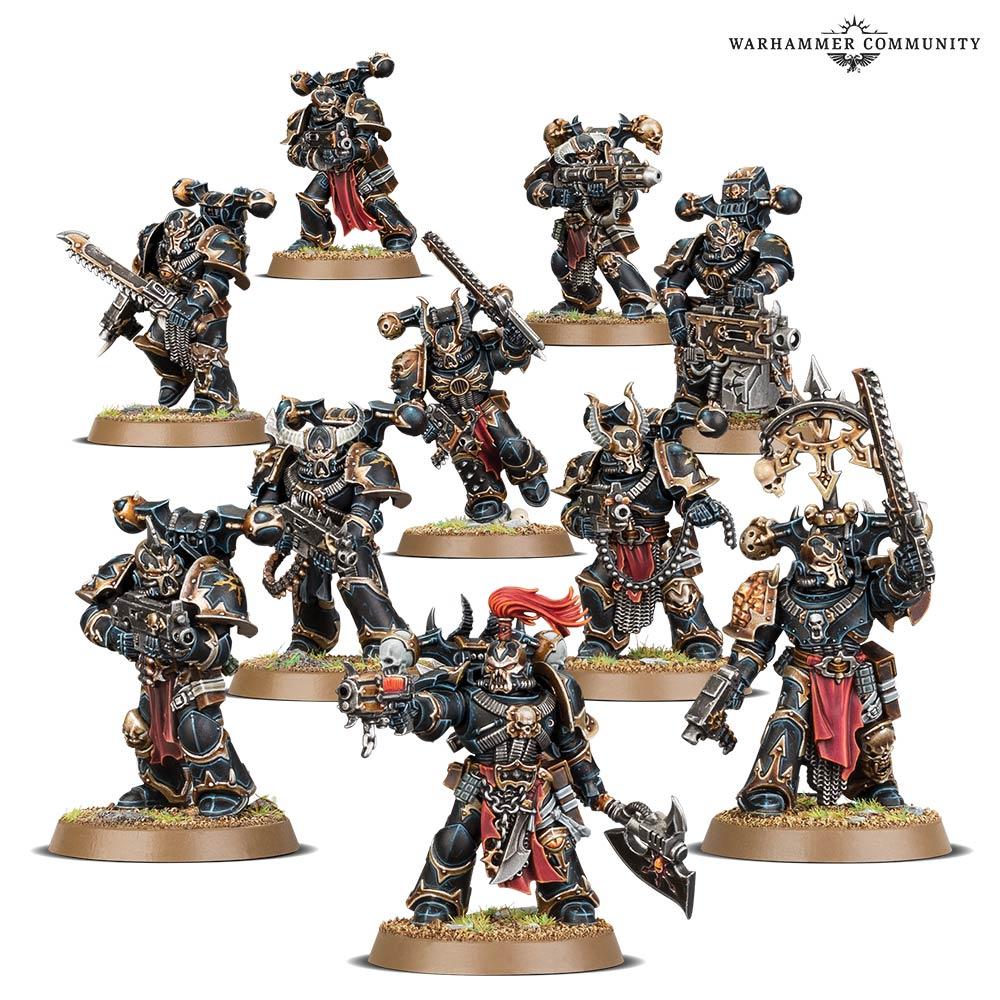 Warhammer 40k Chaos Space Marines Haarken Worldclaimer *New in Box*