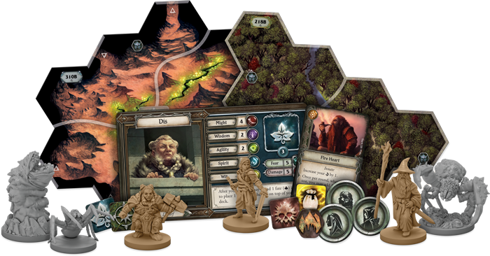 new expansion for Lord of the Rings: Journeys in Middle-earth called Shadowed Path